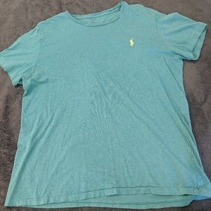 Teal T-shirt by Polo
